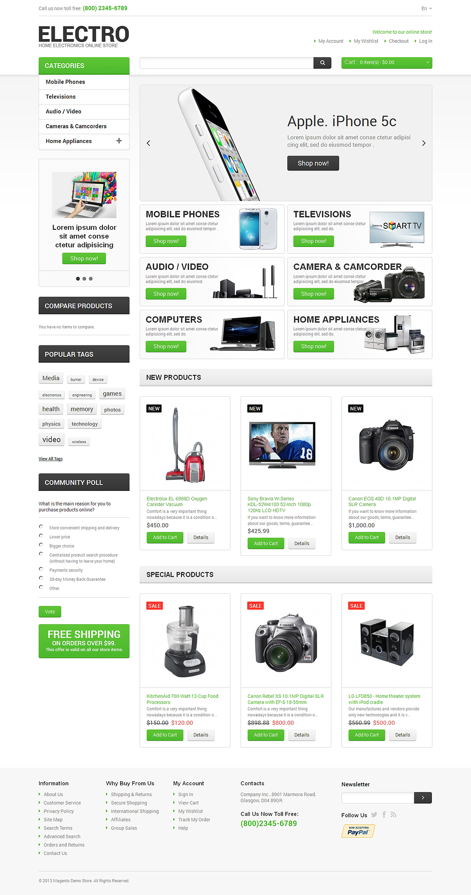15 Of The Best Ecommerce Templates For Web Design