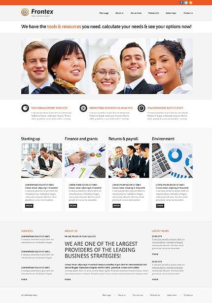 Business Responsive WordPress Theme #47783
