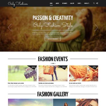 Homepage für  Modedesigner erstellen lassen