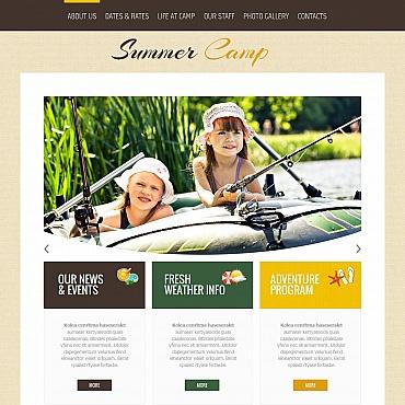 Homepage für Feriencamp erstellen lassen